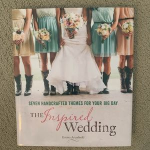 New wedding inspiration book hardback